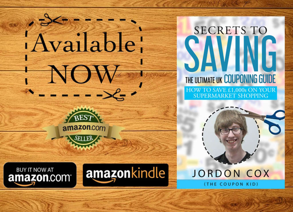 Jordon Cox - The Coupon Kid - Reselling guide – Secrets to Saving The Ultimate UK Couponing Guide