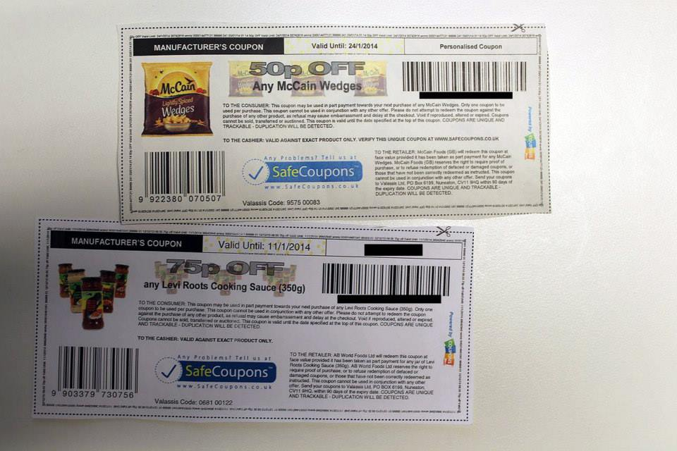 Coupons in the UK - Printable Coupons