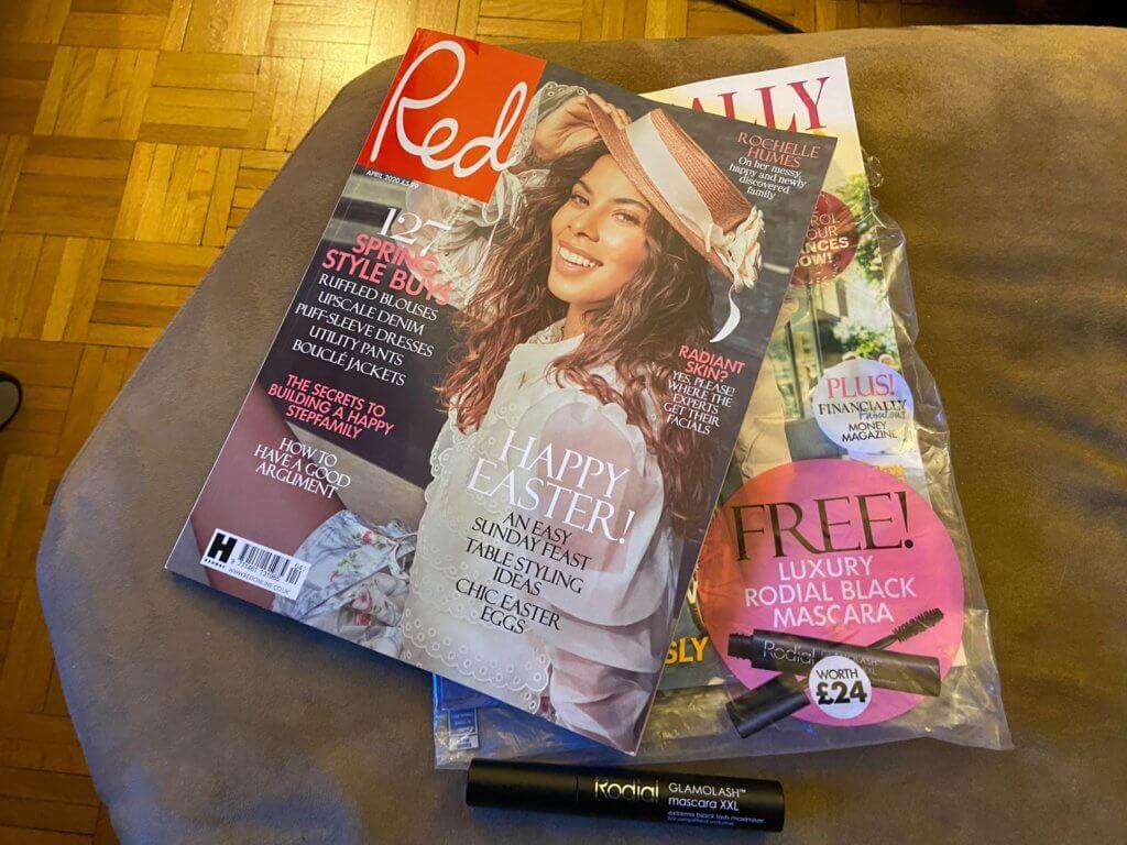 Red Magazine Freebies