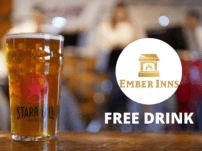 Free Drink At Ember Inns Pubs