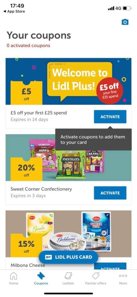 Lidl Plus App Coupons