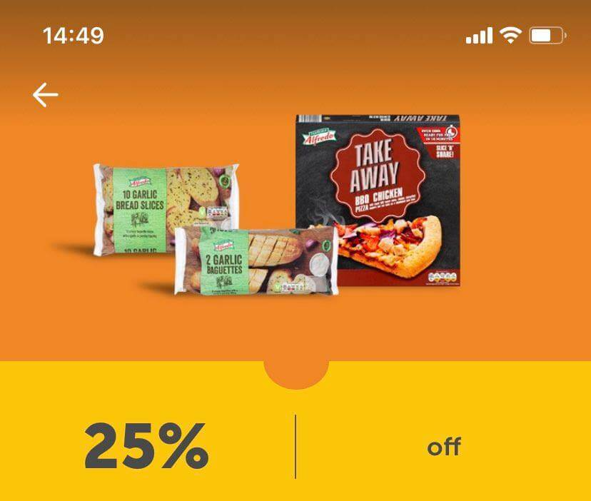 Lidl Plus Coupon 25% off Pizza