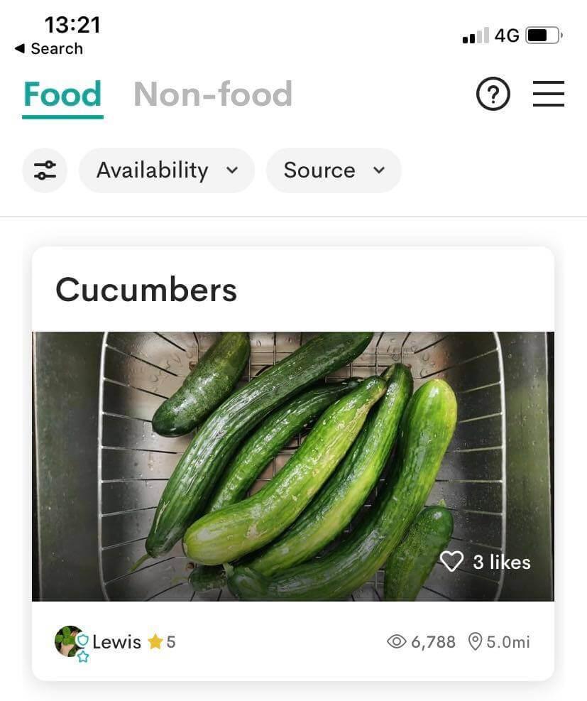 Olio App stop food waste