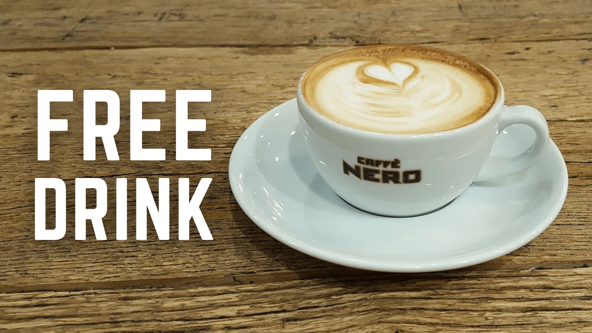 Caffe Nero App Free Drinks