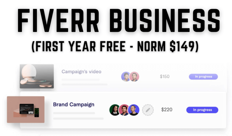 Fiverr Business free how it works