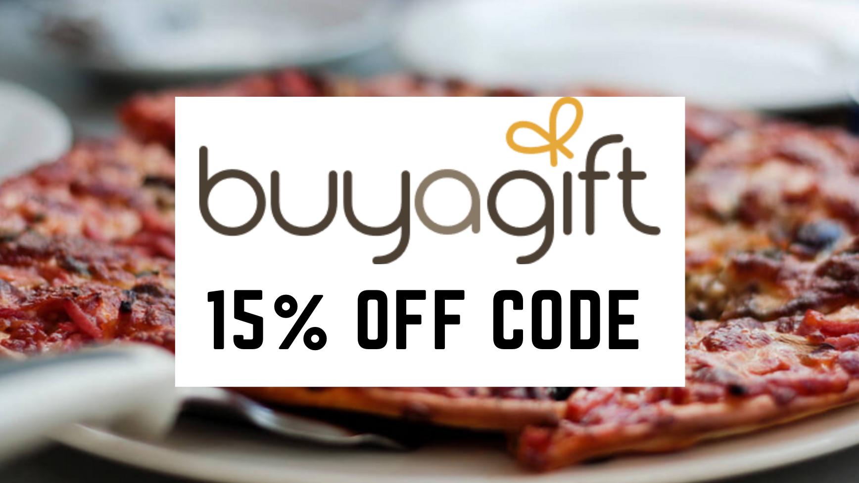 Buyagift Discount Voucher Code 15% off
